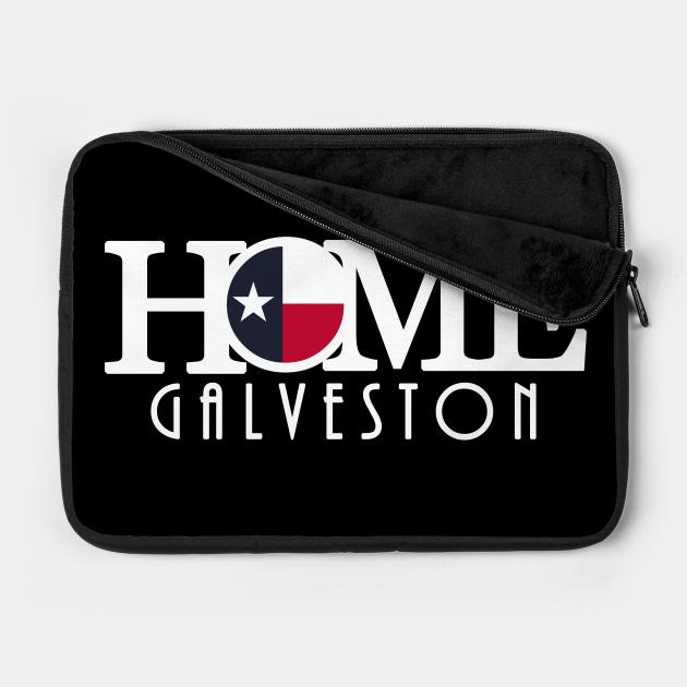 HOME Galveston (long white text)