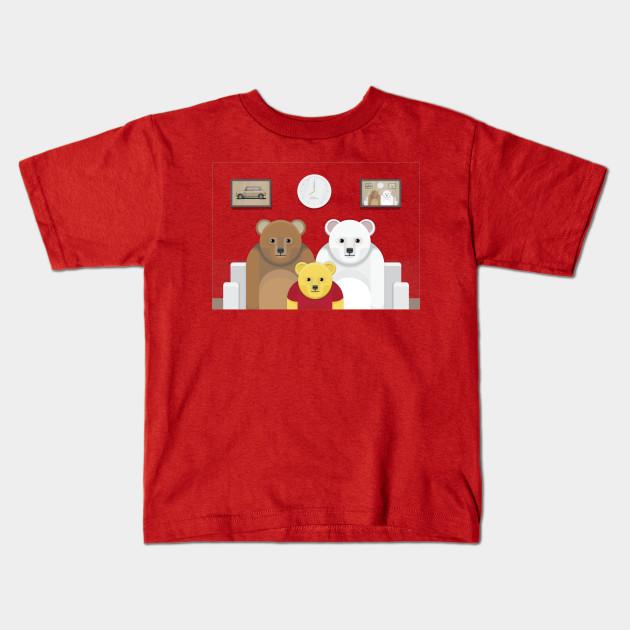 41a1d332f Pooh's Family ? - Winnie The Pooh - Kids T-Shirt | TeePublic