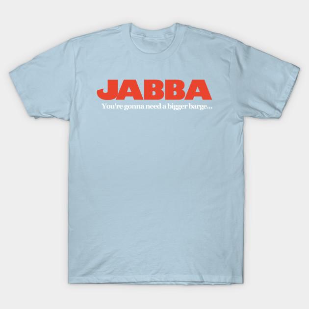 dfabe146 Jabba / Jaws Mash Up - Funny Star Wars - T-Shirt   TeePublic