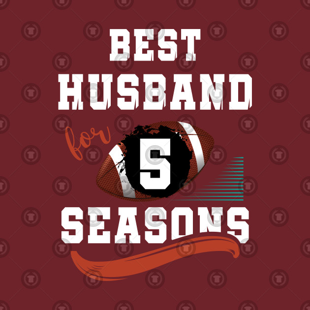 5th Wedding Anniversary Gift As Best Husband For 5 Seasons