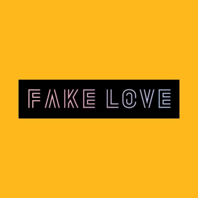 BTS Fake Love - Fake Love - T-Shirt