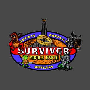 Middle Earth - Survivor t-shirts