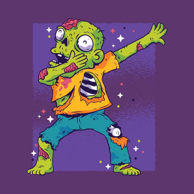 Halloween Zombie Dabbing - Funny Zombi Dab