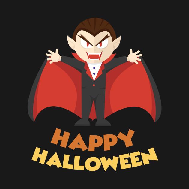 Happy Halloween Vampire Fang Vampire Halloween Tote Teepublic