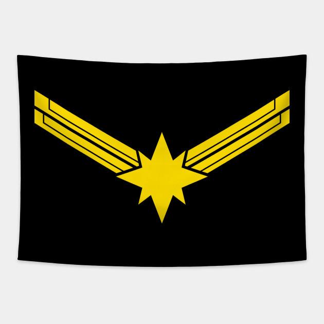 Captain Marvel Movie -Flat