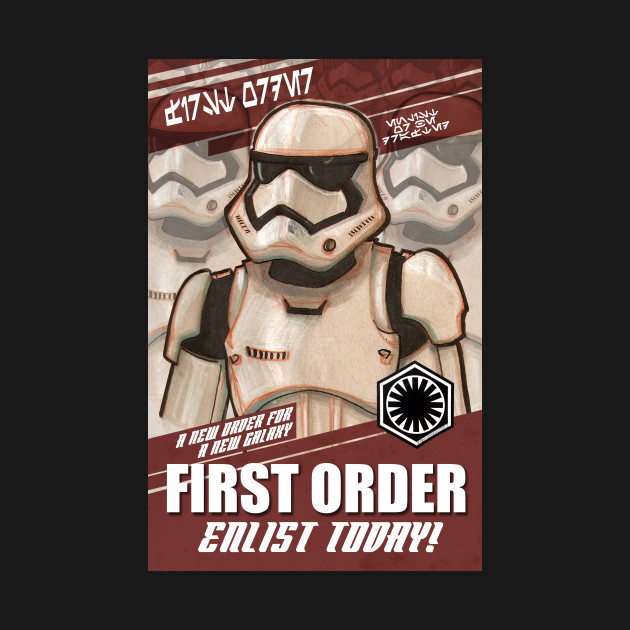 First Order, Enlist Today!