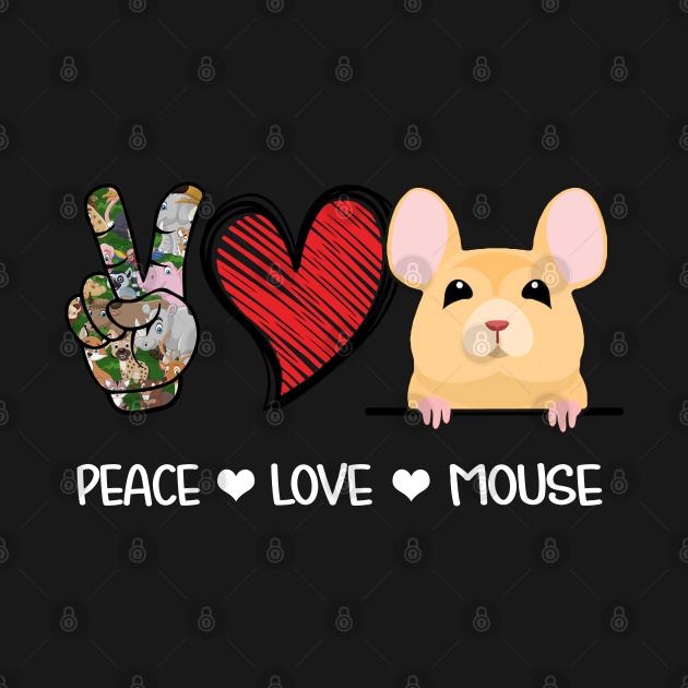 Peace Love Mouse