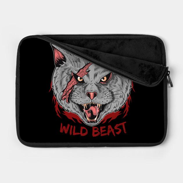 Wild Beast Cats illustration