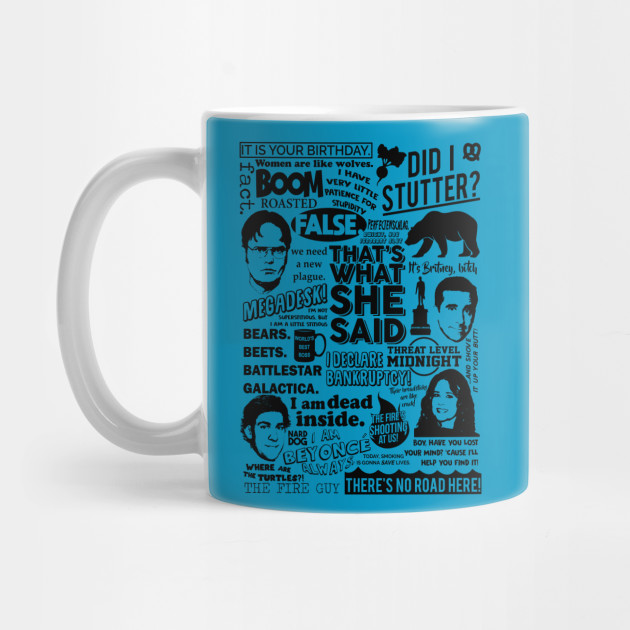 The Office Quotes The Office Mug Teepublic