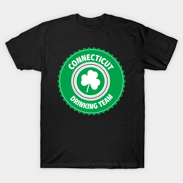 Connecticut Drinking Team Lucky St Patrick's Day Shamrock