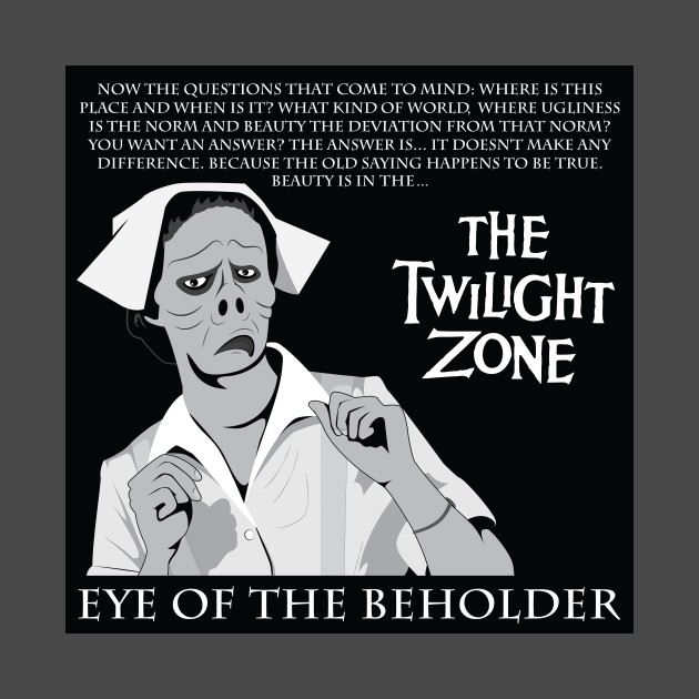 Twilight Zone Eye Of The Beholder Twilight Zone Tapestry