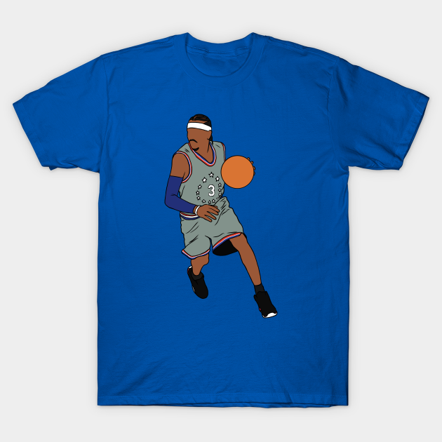 Allen Iverson 76ers City Jersey Allen Iverson T Shirt Teepublic