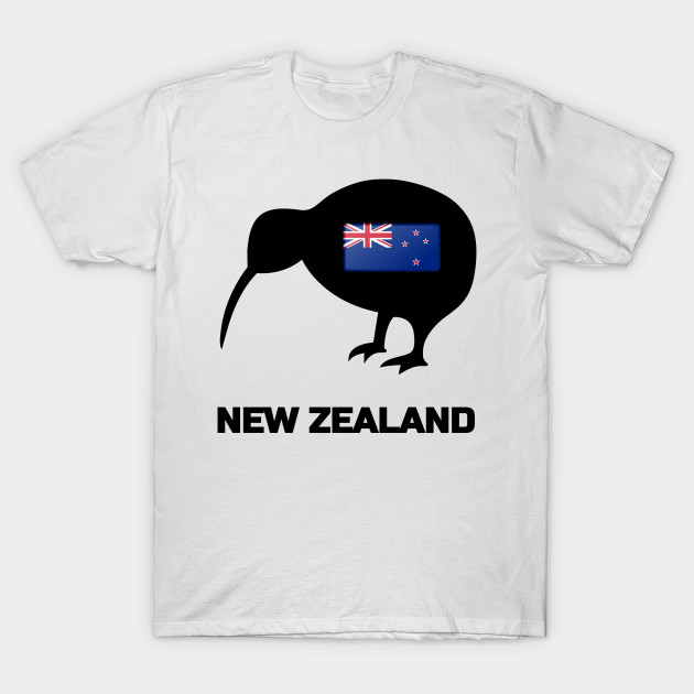 kiwi bird new zealand flag new zealand bird t shirt