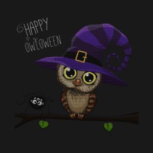 Halloween Owl T-Shirts | TeePublic