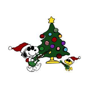 Rock Around the Christmas tree t-shirts