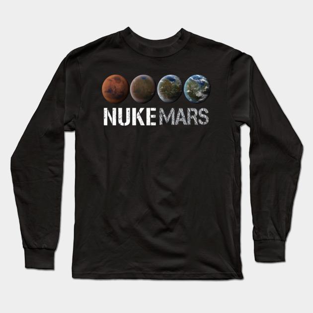 Gift for Him The Boring Company Gift for Dad Tesla SpaceX Tshirt NASA Elon Musk Elon Musk Space Tee NASA T-Shirt Nuke Mars Tee