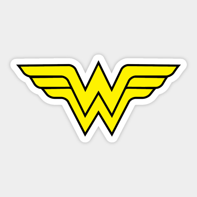 Wonder Woman Symbol Wonder Woman Sticker Teepublic