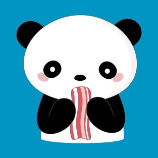 Panda Eating Pizza