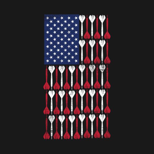 USA Flag Darts
