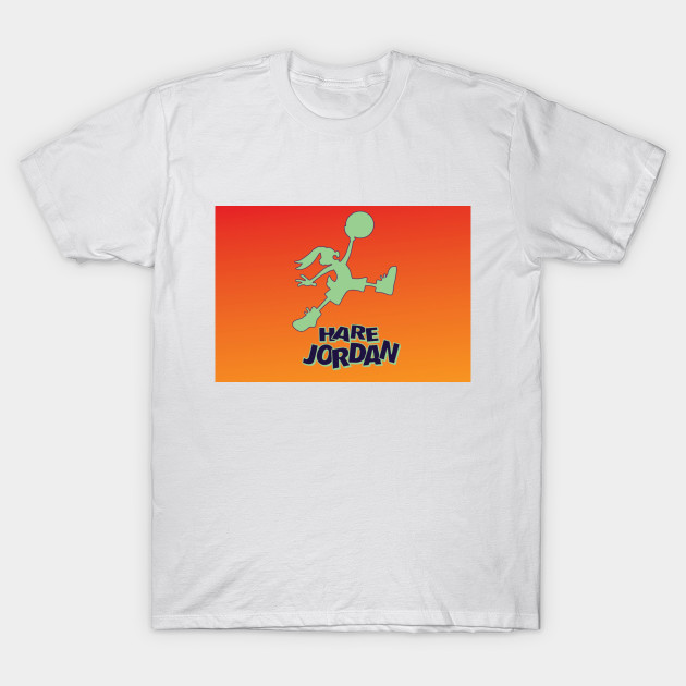 1e2c3399ad70 Hare Jordan - Bugs Bunny - T-Shirt