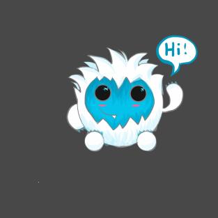 Bubble Yeti t-shirts
