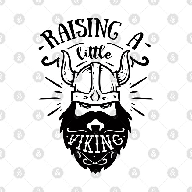 Raising a little viking