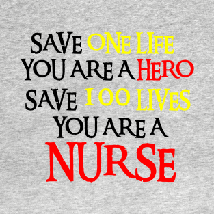 b06aa537e Main Tag Nurse Gifts Ideas T-Shirt. Description. This shirt is great ...