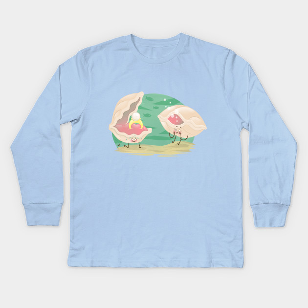 0c915ee5 Mussel Proposal - Love - Kids Long Sleeve T-Shirt | TeePublic