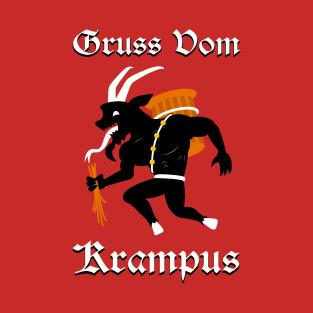 Gruss Vom Krampus t-shirts