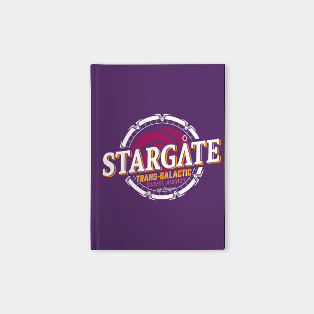 Stargate - Trans-galactic travel agency - yellow