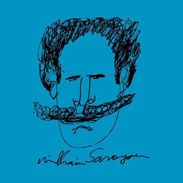 William Saroyan self-portrait