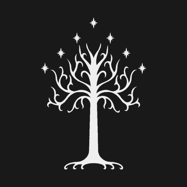 White Tree of Gondor T-Shirt the lord of the rings