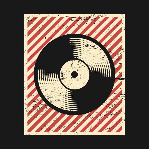 Vintage Vinyl Record Poster Vinyl T Shirt Teepublic