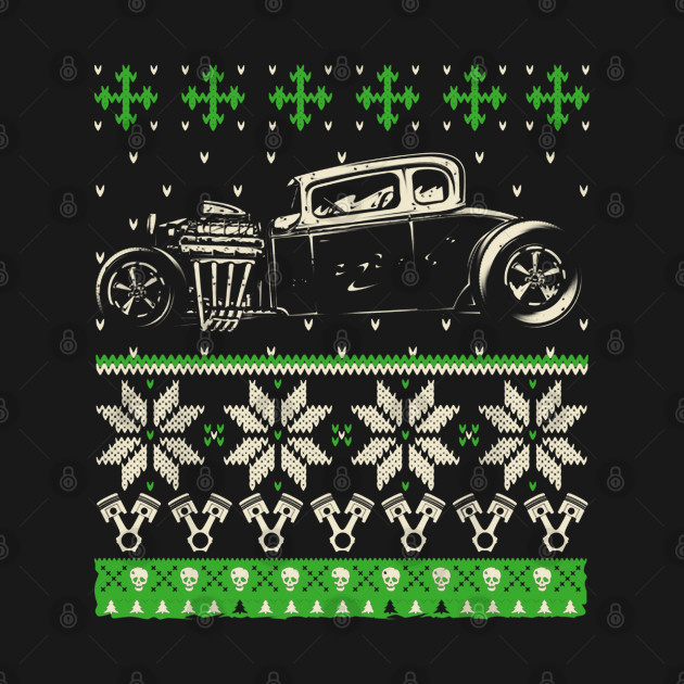 Hot Rod Ugly Christmas Sweater