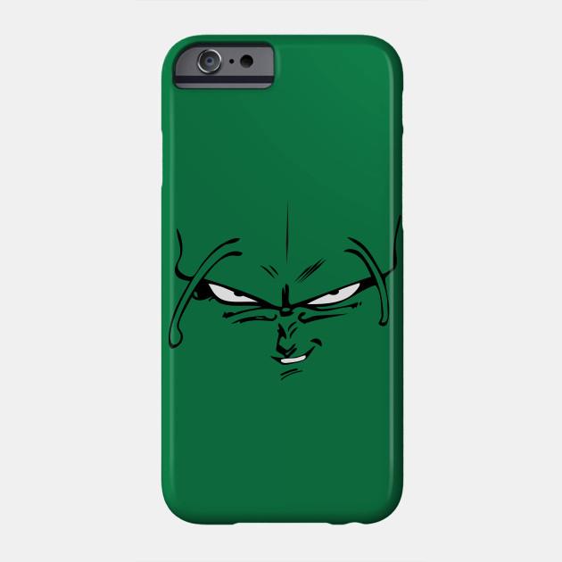 Piccolo face - Dragon Ball Z - Phone Case | TeePublic