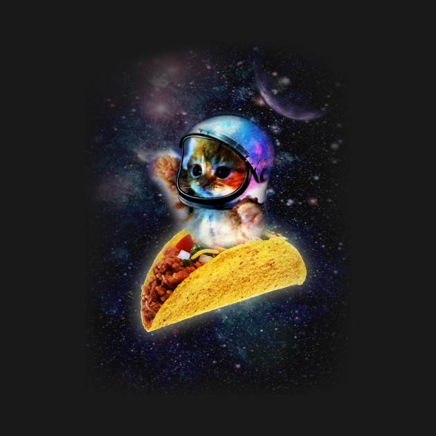 Taco Space Cat