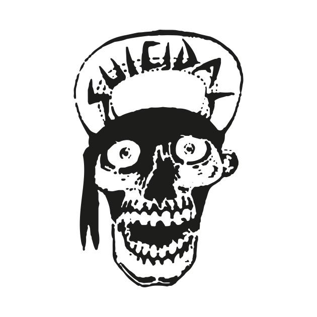 Suicidal Tendencies skull drawing  Rock  Kids Long Sleeve T