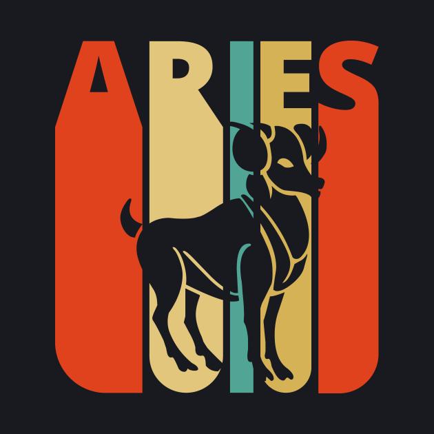 Aries Vintage retro style.