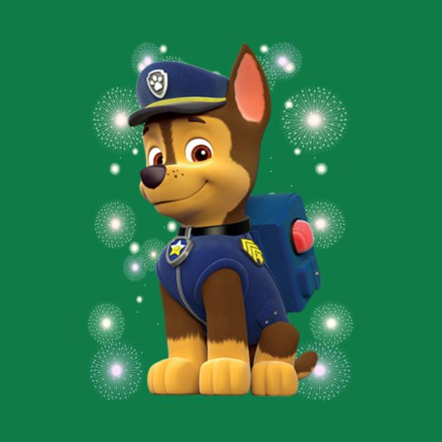 paw patrol chase paw patrol chase t shirt teepublic