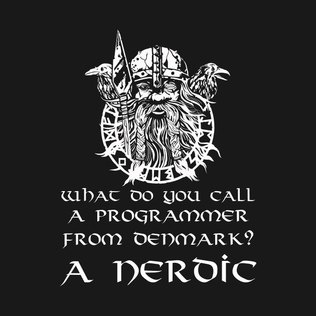 What Do You Call A Programmer From Denmark? A Nerdic.