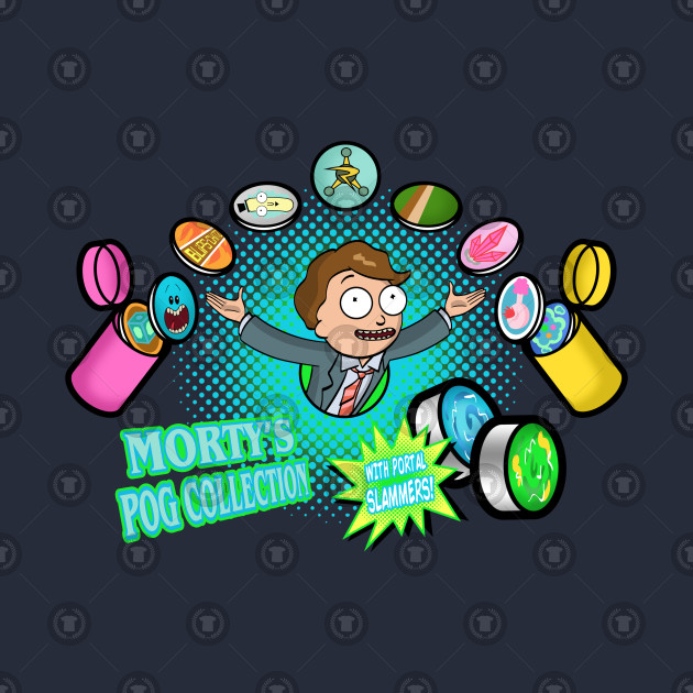 Morty's Pog Collection