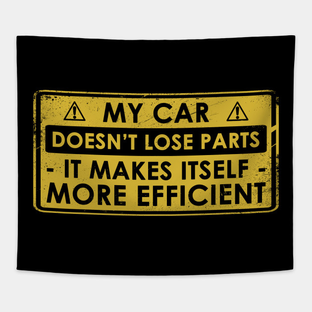 Funny Gift For Classic Car Lovers Tapestry