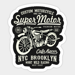 Custom Motorcycle Stickers TeePublic - Custom motorcycle stickers racing