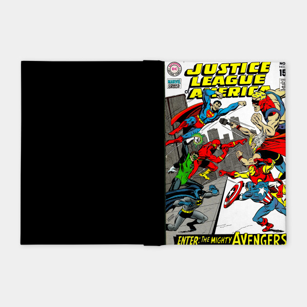 Justice League of America vs. the Mighty Avengers!