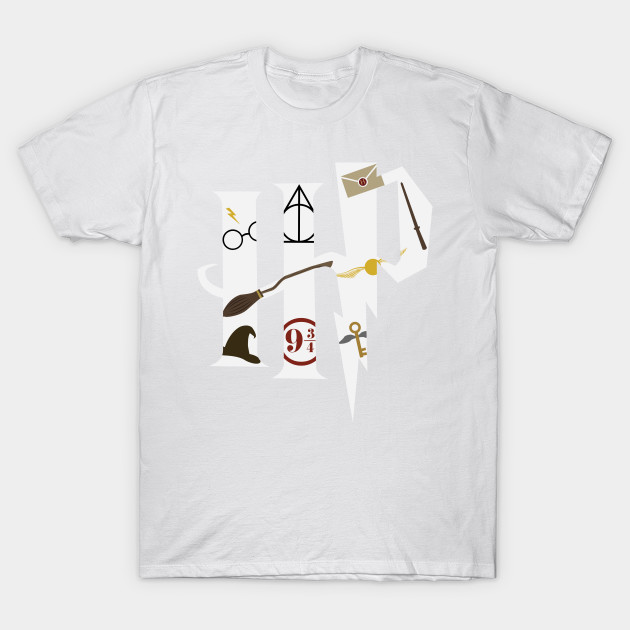The Magical World of Harry Potter (White) T-Shirt-TOZ