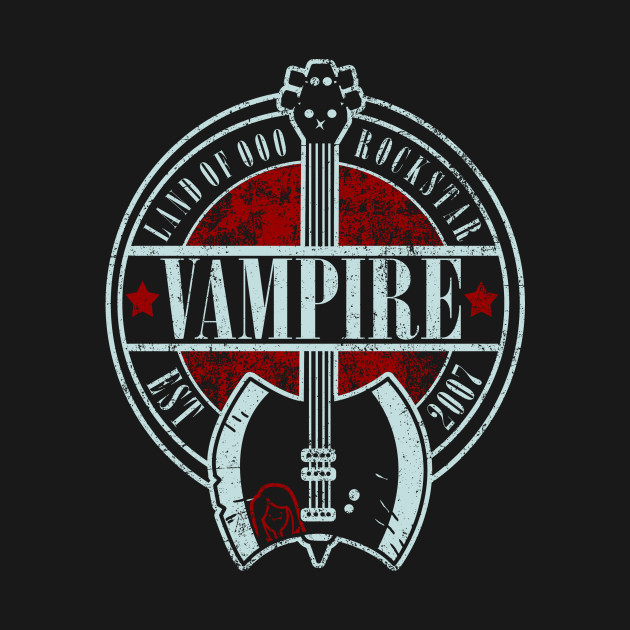 Vampire Rockstar T-Shirt