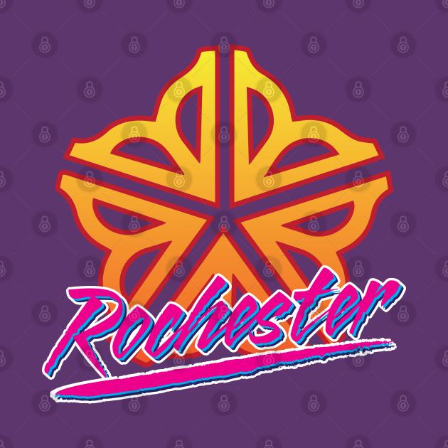 Officially Licensed Retro Rochester Logo