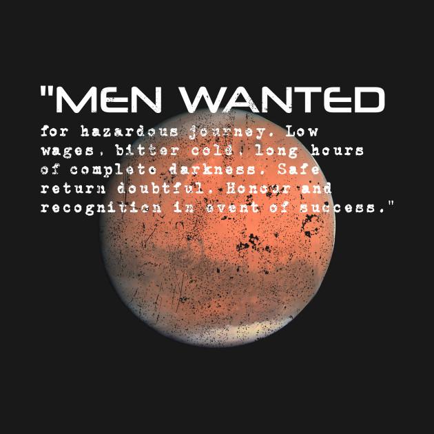 Mars Exploration Shackleton Ad Text