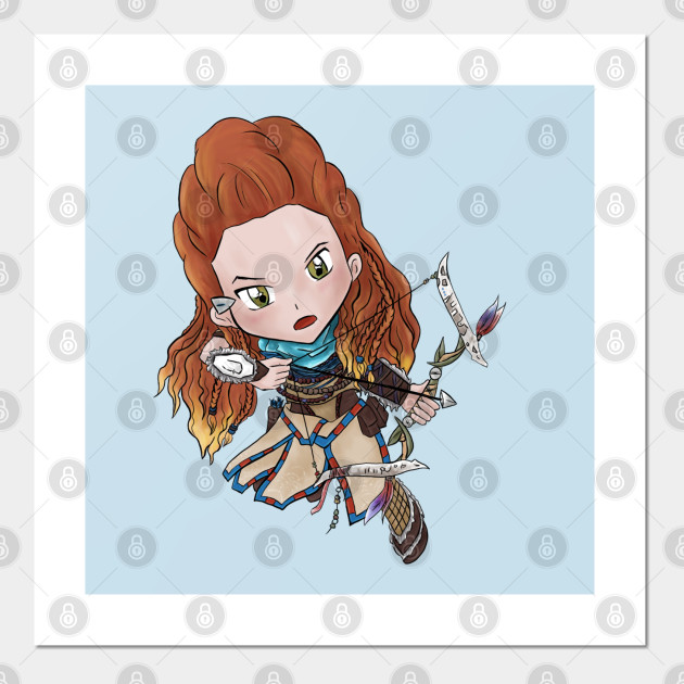 Aloy Horizon Zero Dawn Posters And Art Prints Teepublic Au