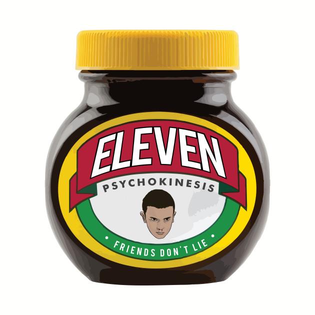 Stranger Things Eleven Marmite